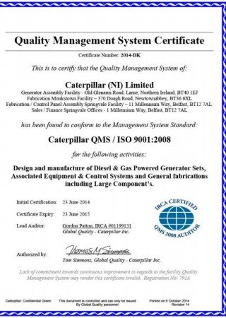 FG-WILSON-ISO9 001