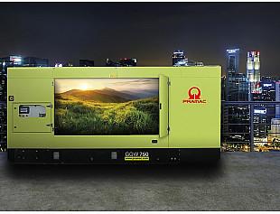 """Новое поколение газовых генераторов """"Pramac"""" с минимальными выбросами, максимальной эффективностью и надежностью"""