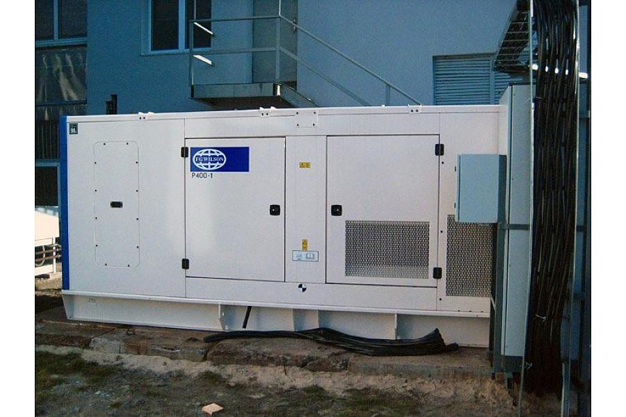 Дизель генератор 320 кВт FG Wilson P400-1 в кожухе