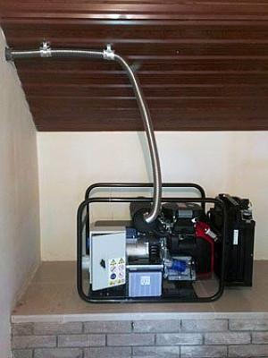 Бензогенератор 8 кВт EUROPOWER EP1000E открытого исполнения