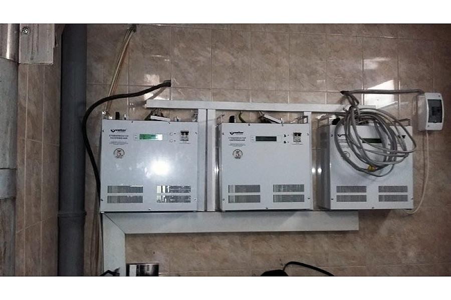 Стабилизатор напряжения 66 кВт Электромир Volter СНПТО-22 птш