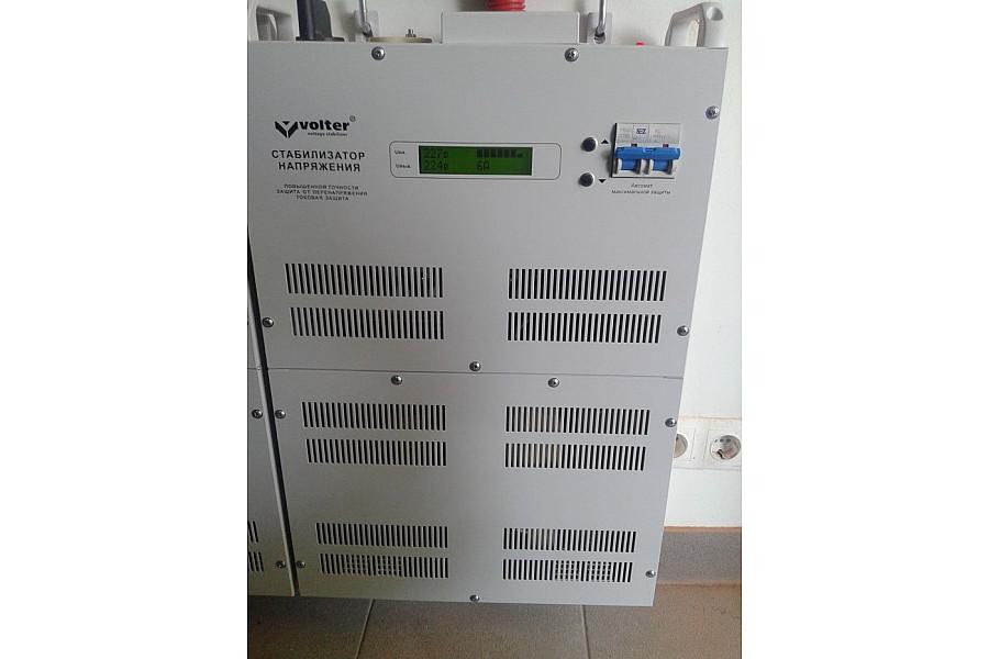 Стабилизаторы напряжения 80 кВт Электромир VOLTER СНПТО-27пт 3 шт.