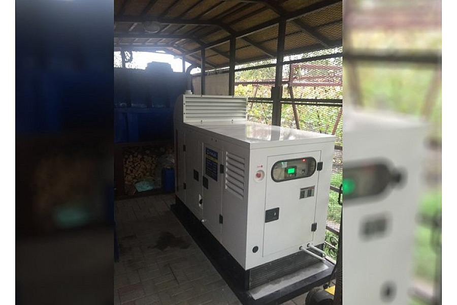 Однофазный электрогенератор дизельный Dalgakiran DJ22CP в кожухе
