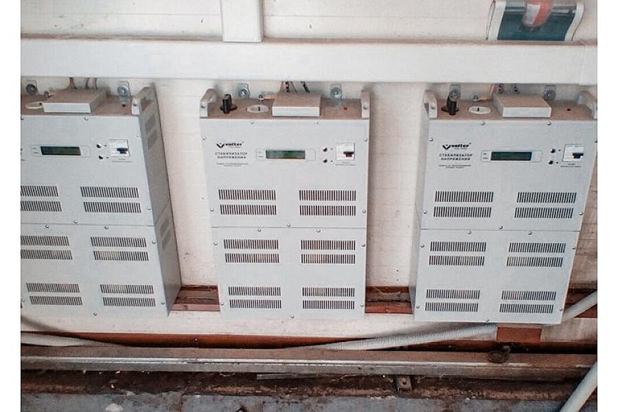 Стабилизаторы напряжения 54 кВт торговой марки VOLTER