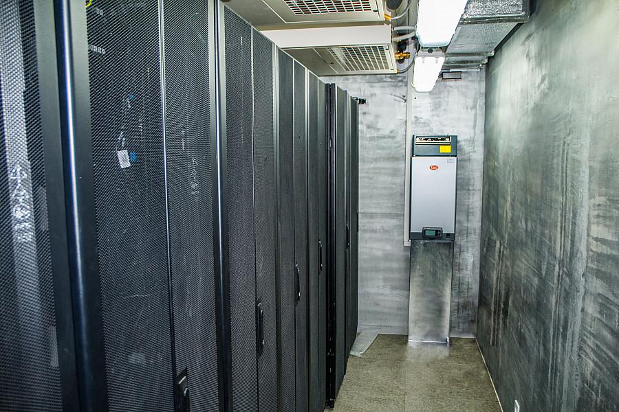 Центр обработки данных для коммунального предприятия г. Винница
