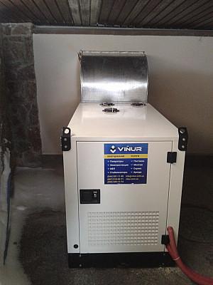 Однофазный генератор дизельный 16 кВт Dalgakiran DJ22CP для дома