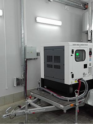 Резервный дизель генератор 50 кВт Matari MC50 для банка