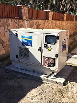 Трехфазный электрогенератор дизельный FG WILSON P22E2 для частного дома