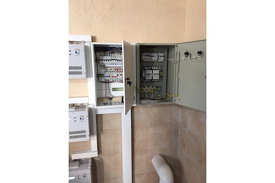 Стабилизаторы напряжения для дома VOLTER суммарной мощностью 42 кВт
