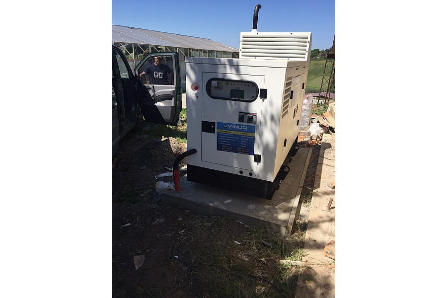 Дизельный генератор 30 кВт DALGAKIRAN модели DJ44CP во всепогодном кожухе