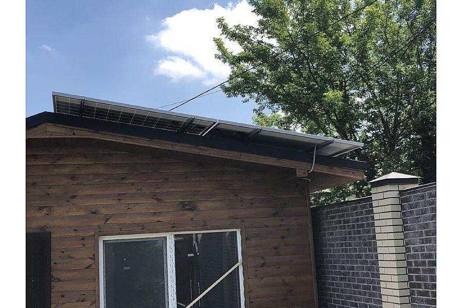 Солнечная электростанция 10 кВт для частного дома в г. Киев