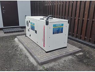Трехфазный дизельный генератор 16 кВт для дома