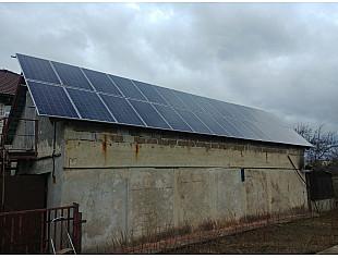 Сетевая солнечная электростанция 8 кВт c перспективой 30 кВт