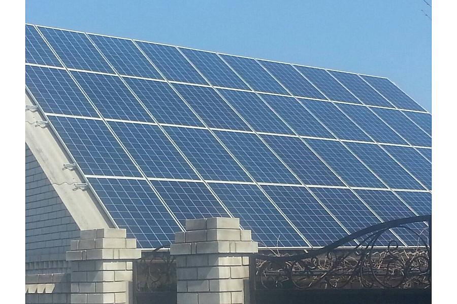 Сетевая солнечная электростанция 11,4 кВт c перспективой 25 кВт