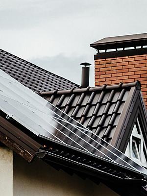 Гибридная солнечная электростанция 4 кВт