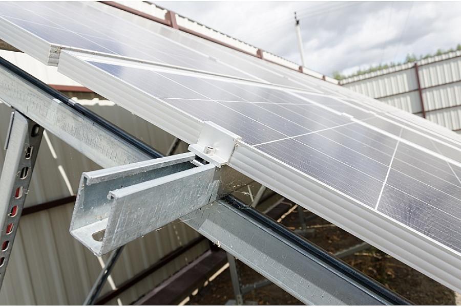 Сетевая солнечная электростанция 30 кВт