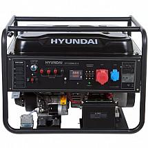 Генератор бензиновый 9,5кВт HYUNDAI HHY 12500LE-3открытого типа - фото 2