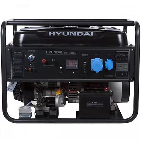 Бензиновая электростанция 9,5кВт HYUNDAI HHY 12500LEоткрытого типа - фото 2