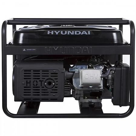 Бензиновая электростанция 9,5кВт HYUNDAI HHY 12500LEоткрытого типа - фото 3