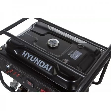 Бензиновая электростанция 9,5кВт HYUNDAI HHY 12500LEоткрытого типа - фото 6