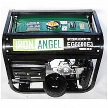 Бензиновый генератор Iron Angel EG 5500E3 - фото 2