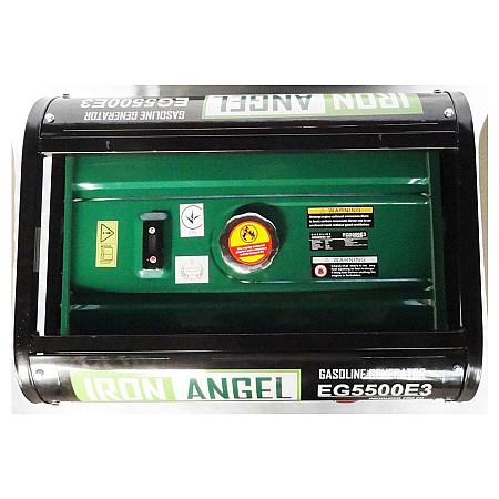 Бензиновый генератор Iron Angel EG 5500E3 - фото 4