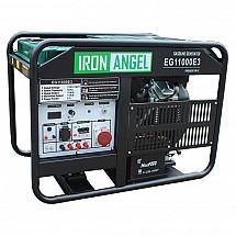 Бензиновый генератор Iron Angel EG11000E3 ATS