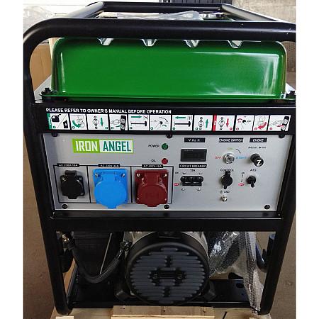 Бензиновый генератор Iron Angel EG12000EA3 + блок автоматики - фото 3