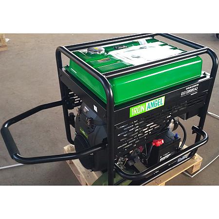 Бензиновый генератор Iron Angel EG12000EA3 + блок автоматики - фото 5