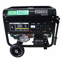 Бензиновый генератор Iron Angel EG8000E