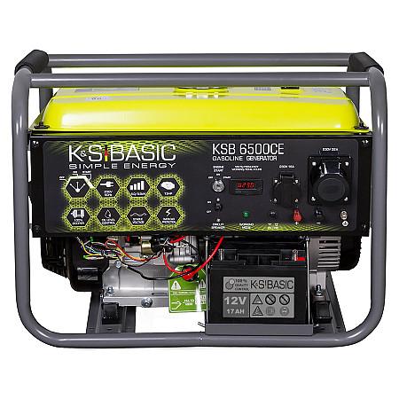 Бензиновый генератор KSB 6500CE