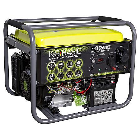 Бензиновый генератор KSB 6500CE - фото 2