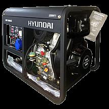 Дизельний генератор Hyundai DHY 8500LE