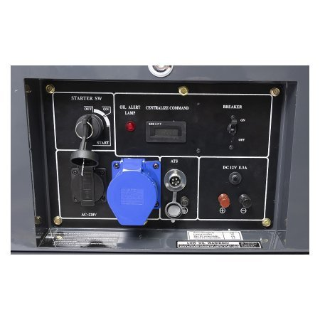 Дизельный генератор Matari MDA8000SE-ATS - фото 4