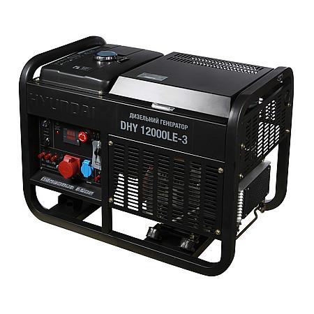 Дизельный генератор HYUNDAI DHY 12000LE-3 - фото 2