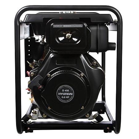 Дизельный генератор HYUNDAI DHY 5000L - фото 5
