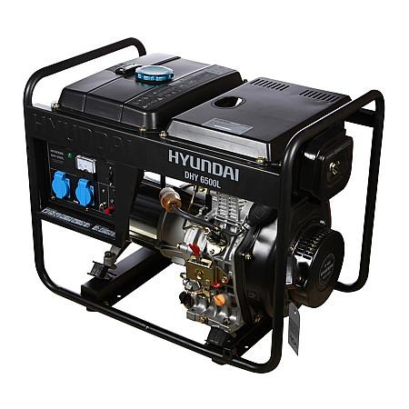 Дизельный генератор HYUNDAI DHY 6500L - фото 2