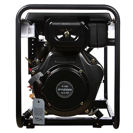 Дизельный генератор HYUNDAI DHY 6500L - фото 3
