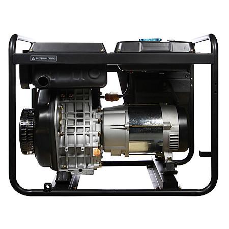 Дизельный генератор HYUNDAI DHY 6500L - фото 4