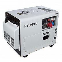 Дизельный генератор HYUNDAI DHY 8500SE-3 - фото 2