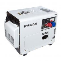 Дизельный генератор HYUNDAI DHY 8500SE-Т - фото 2