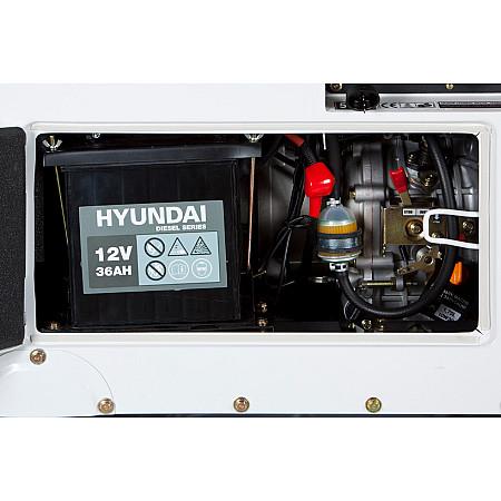 Дизельный генератор DHY 8500SE-T - фото 6