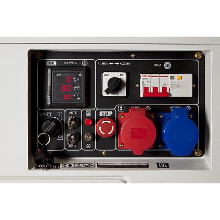 Дизельный генератор DHY 8500SE-T - фото 7