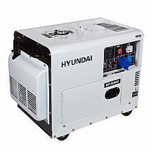 Дизельный генератор HYUNDAI DHY 8500SE - фото 2