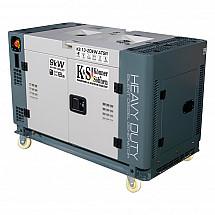 Дизельный генератор Könner&Söhnen KS 13-2DEW ATSR - фото 2