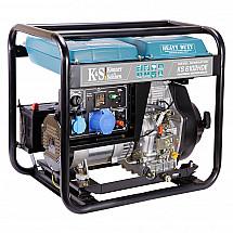 Дизельный генератор Könner&Söhnen KS 6102HDE - фото 2