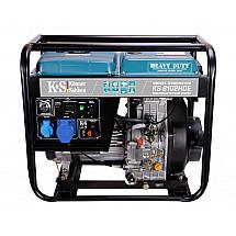 Дизельный генератор Könner&Söhnen KS 8102HDE