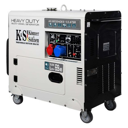 Дизельный генератор Könner&Söhnen KS 9202HDES-1/3 ATSR - фото 2