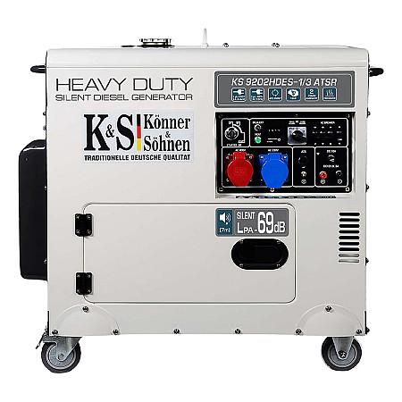 Дизельный генератор Könner&Söhnen KS 9202HDES-1/3 ATSR - фото 4