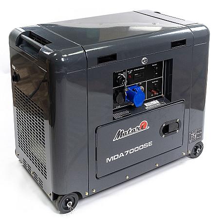 Дизельный генератор Matari MDA7000SE - фото 2